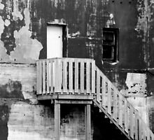 New Stairs on an Old Wall by Kathleen Daley