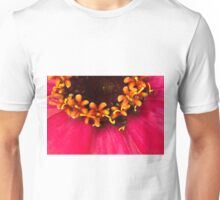 Flowers Within The Flower - Zinnia Macro  Unisex T-Shirt