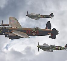 The Battle Of Britain Memorial Flight - Shoreham 2014 by Colin  Williams Photography