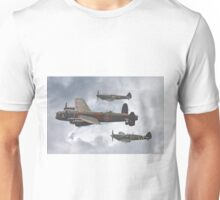 The Battle Of Britain Memorial Flight - Shoreham 2014 Unisex T-Shirt