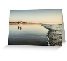 Evening Stroll Greeting Card