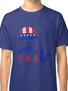U S A - Los angeles Classic T-Shirt