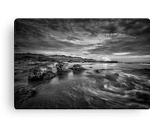 Roiling Reddell Canvas Print