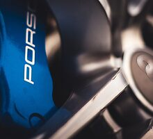 Porsche Big Brakes Behind Audi Wheel by Jacob Brcic