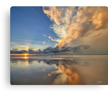Sunset Spectacular Metal Print