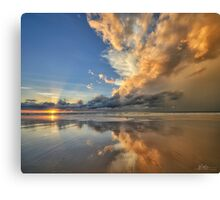 Sunset Spectacular Canvas Print
