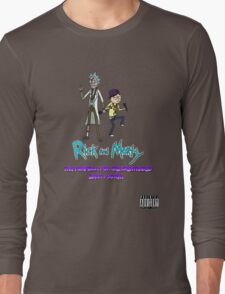 """Rick and Morty Rap Album"" Long Sleeve T-Shirt"