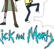 """Rick and Morty Rap Album"" Sticker"