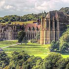 Lancing College Chapel -  Shoreham West Sussex - HDR by Colin J Williams Photography