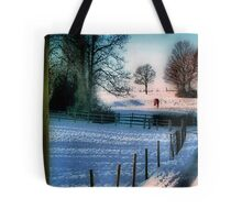 The Snow Fields Tote Bag