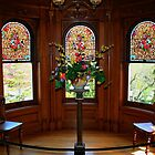 Bay Window in Craigdarroch Castle by AnnDixon