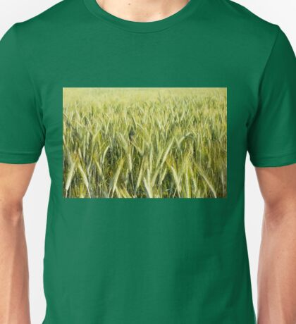 Spring green cereal plants Unisex T-Shirt