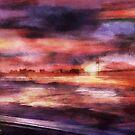 The Red Sunset by Stefano Popovski