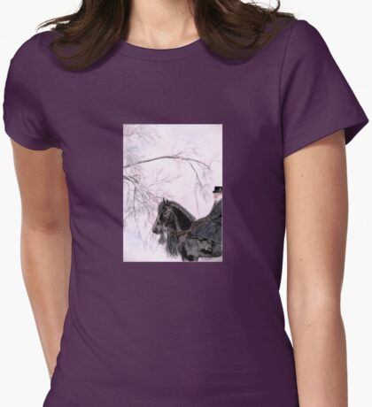 New Year's Resolution Womens Fitted T-Shirt