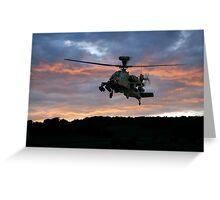 Apache Sunset Greeting Card