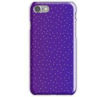 Pixel Stars on Blue & Purple Sky iPhone Case/Skin