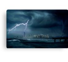 Gold Coast storm Canvas Print