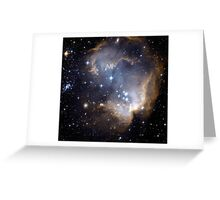 Infant Stars in Nearby galaxy Greeting Card