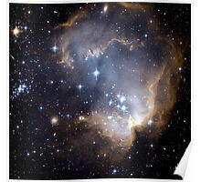 Infant Stars in Nearby galaxy Poster
