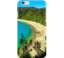 Beautiful beach at Abel Tasman National Park, New Zealand iPhone Case/Skin