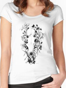 Autumn Fruit Women's Fitted Scoop T-Shirt