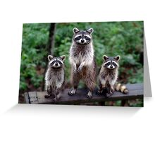 """Family Portrait"" Greeting Card"