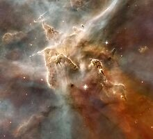 Star Forming in the Carina Nebula by Old-Time-Images