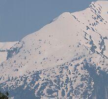 snowy mountain by spetenfia