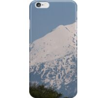 snowy mountain iPhone Case/Skin