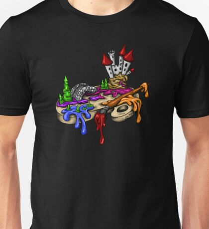 Artist's Palette Coming to Life Unisex T-Shirt