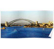 Sydney Harbour Bridge New South Wales Australia Poster