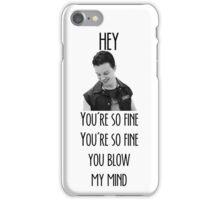 oh Mickey Milkovich you're so fine iPhone Case/Skin