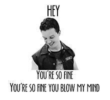 oh Mickey Milkovich you're so fine Photographic Print