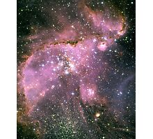 Young stars scuplt gas with powerful outflows Photographic Print