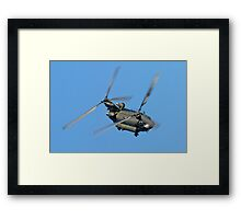 Chinook Framed Print