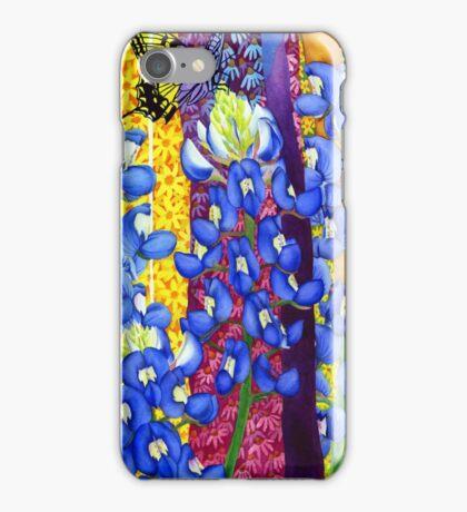 Bluebonnet Garden iPhone Case/Skin