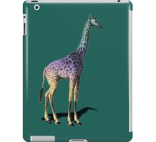 vintage giraffe classic iPad Case/Skin