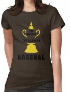 Arsenal FC - The Gunners Womens Fitted T-Shirt