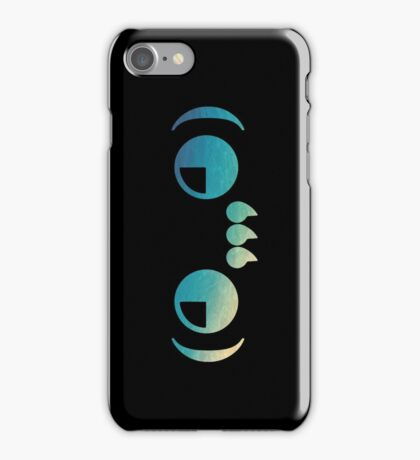 Ghastly - logo Blue iPhone Case/Skin