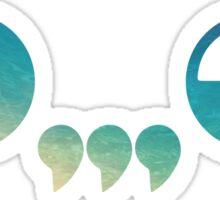 Ghastly - logo Blue Sticker
