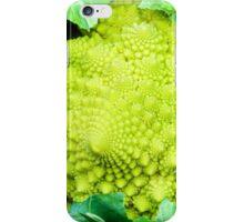 Romanesco broccoli cabbage or Green cauliflower iPhone Case/Skin