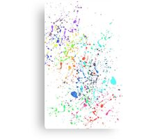 The Paint Splatter Mk II Canvas Print