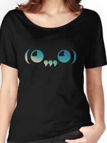 Ghastly - logo Blue Women's Relaxed Fit T-Shirt