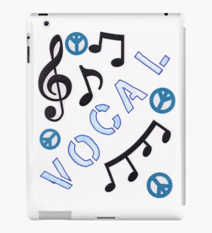 Vocal Cover iPad Case/Skin
