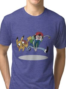 Poketime Tri-blend T-Shirt