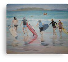 Surf Race Canvas Print