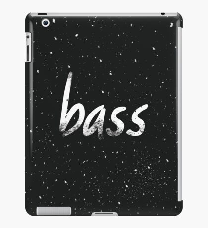Bass #1 iPad Case/Skin