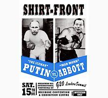 #Shirtfront - blue Unisex T-Shirt