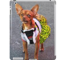 This Silly Skirt was NOT my Idea! iPad Case/Skin