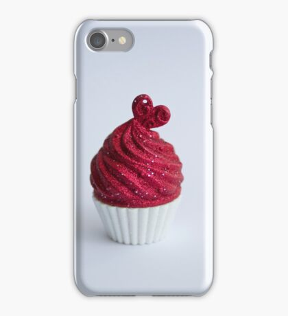 Cupcake (portrait)  iPhone Case/Skin